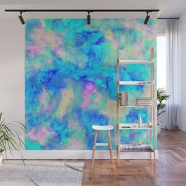 Electrify Ice Blue Wall Mural