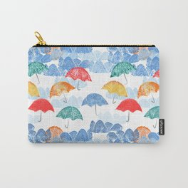 Umbrella Spring - by Kara Peters Carry-All Pouch