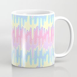 Melty Patterned Slime Coffee Mug