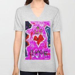 Love Amor Unisex V-Neck