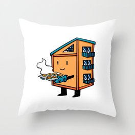Home Body: Chip Throw Pillow
