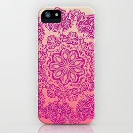 Joie de Rose iPhone Case