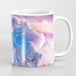 Alolan Ninetales  and Vulpix Coffee Mug