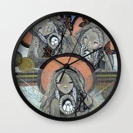 Return of the Medicine Women Wall Clock