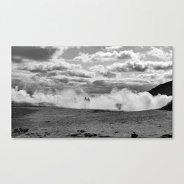 Through the Fog Canvas Print