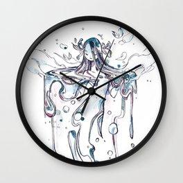 Water Falls Wall Clock