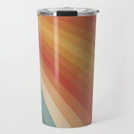 Retro 70s Sunrays Travel Mug