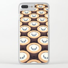 Batteries Clear iPhone Case