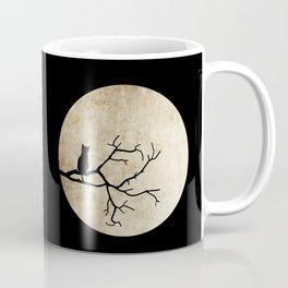 Cat Night Coffee Mug