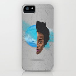 Your inner self is excellence - her version iPhone Case