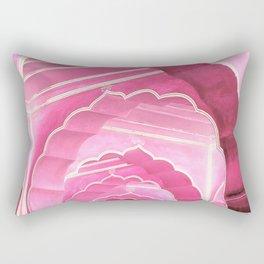 Amber Fort Jaipur Pink Mood Rectangular Pillow