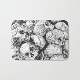 Pile o' Skullies Bath Mat
