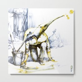 Two-faced anteater Metal Print