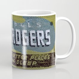 Idaho Falls - Vintage Hotel Rogers Better Place To Eat And Sleep Coffee Mug