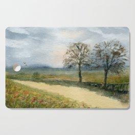 Autumn Path Cutting Board