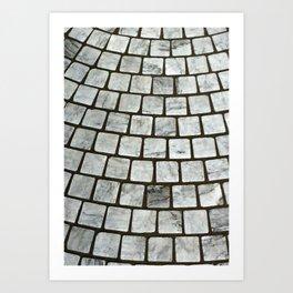 Paving Stones Art Print