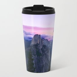 The Mountains and Purple Clouds Travel Mug