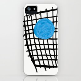 a graphic montage iPhone Case