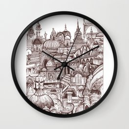 Jaipur, India Wall Clock