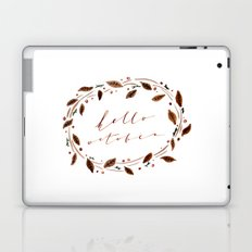 Hello October! Laptop & iPad Skin