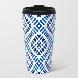 Shibori Watercolour no.7 Travel Mug
