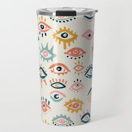 Mystic Eyes – Primary Palette Travel Mug