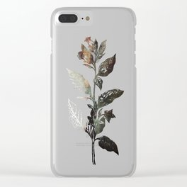 Saint Atropa Clear iPhone Case