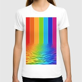 spectrum water reflection T-shirt