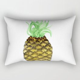 Pineapple watercolor sketch Rectangular Pillow