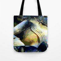 stone Tote Bags featuring Stone by Stephen Linhart