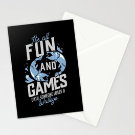 Fishing Design: Until Someone Loses A Walleye Stationery Cards