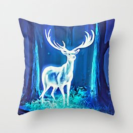 Partonus Deer Throw Pillow
