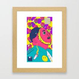 Kim Jong Boom Framed Art Print