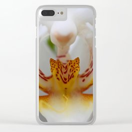 Bewitching Character Clear iPhone Case