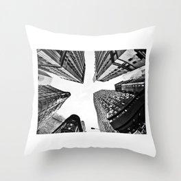 Subtle City Throw Pillow