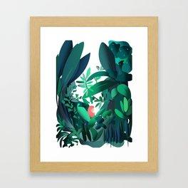 In the Jungle Framed Art Print