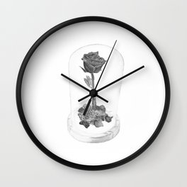 The Important Rose Wall Clock