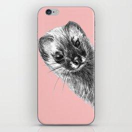 Siberian Weasel Kolinsky iPhone Skin
