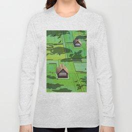 Rice paddy field Long Sleeve T-shirt