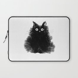 Duster - Black Cat Drawing Laptop Sleeve