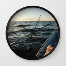 Kayaking Port Angeles Wall Clock