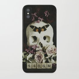 SSDGM iPhone Case