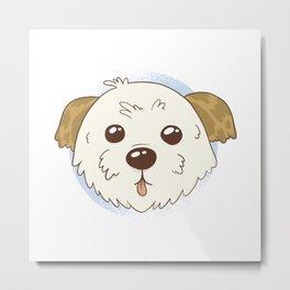 Morkie Dog Dogs Metal Print