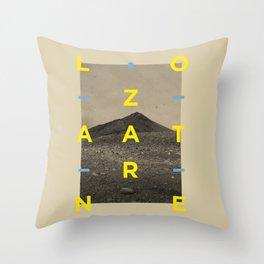 Lanzarote2 Throw Pillow