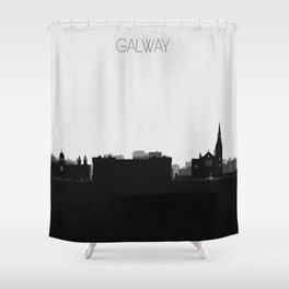 City Skylines: Galway Shower Curtain