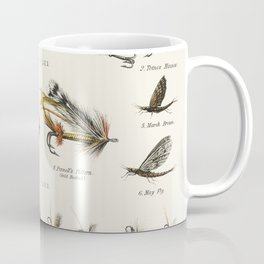 Angling baits from British Fresh Water Fishes (1879) Coffee Mug