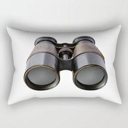 Vintage binoculars Rectangular Pillow