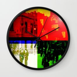 Unity Divided Wall Clock