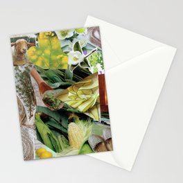 Collage - Feeling Green Stationery Cards