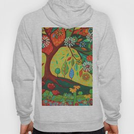 Folk Art Tree Hoody